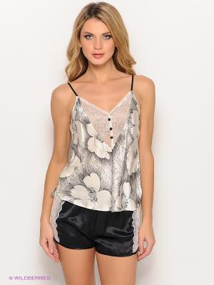 Комплект одежды Mia-Mia. Цвет: черный, молочный