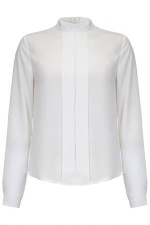 Блузка Iska. Цвет: белый