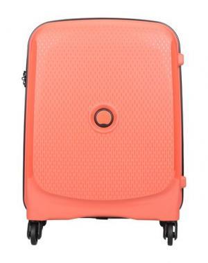 Чемодан/сумка на колесиках DELSEY. Цвет: красный