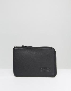 Eastpak Черный кожаный чехол для iPad Mini. Цвет: черный