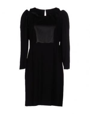 Короткое платье GIULIANO FUJIWARA. Цвет: черный
