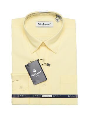 Рубашка Sky Lake. Цвет: желтый