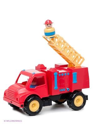 Игрушка Пожарная машина Battat. Цвет: красный, зеленый