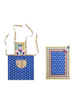 Комплект ZLATA KORUNKA. Цвет: синий