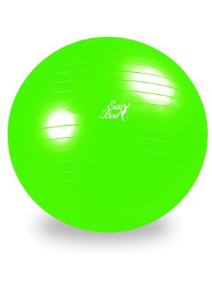 Мяч гимнастический 55 см Easy Body. Цвет: зеленый