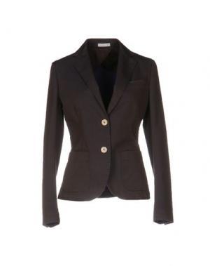 Пиджак MANUEL RITZ. Цвет: баклажанный