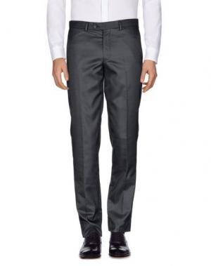 Повседневные брюки MAESTRAMI Cerimonia. Цвет: темно-синий