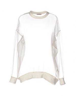 Блузка EMMA COOK. Цвет: слоновая кость