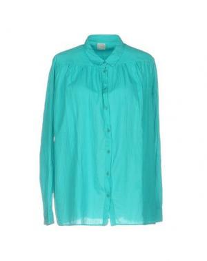 Pубашка DES PETITS HAUTS. Цвет: бирюзовый