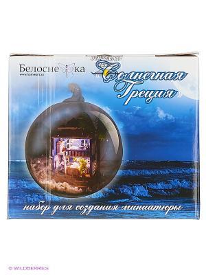 Декор. Набор для создания миниатюры Солнечная Греция (006-B) Белоснежка. Цвет: голубой