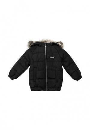 Куртка утепленная Lassie. Цвет: черный