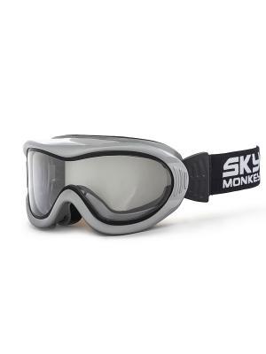 Очки горнолыжные Sky Monkey SR20 TR. Цвет: серый, черный