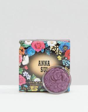 Anna Sui Тени для век и лица Velvet Corsage. Цвет: фиолетовый