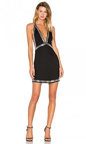 Платье vivian NBD. Цвет: черный