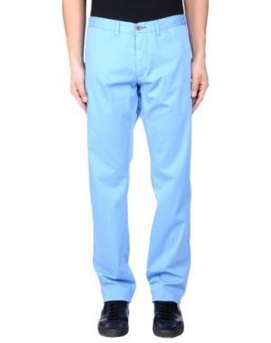 Повседневные брюки ALV ANDARE LONTANO VIAGGIANDO. Цвет: небесно-голубой