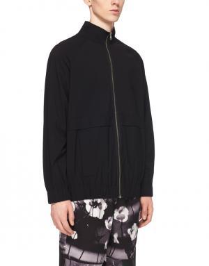 Однотонная куртка Alexander Wang. Цвет: черный