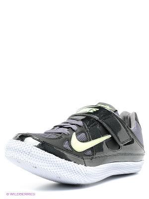 Кроссовки ZOOM HJ III Nike. Цвет: черный, темно-серый