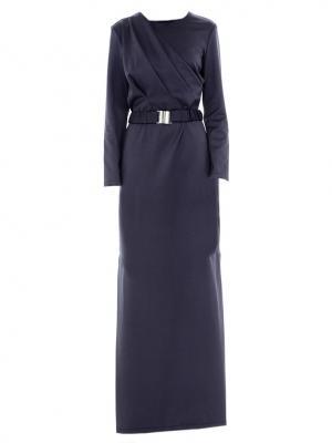 Платье деловое со складками на лифе Bella kareema