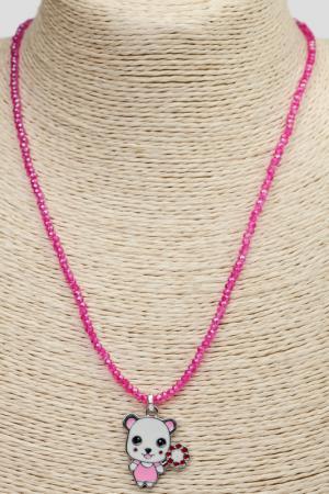 Кулон SOFIPOLI. Цвет: розовый