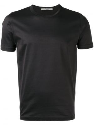 Базовая футболка La Fileria For Daniello D'aniello. Цвет: серый