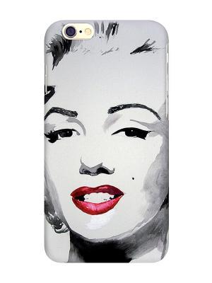 Чехол для IPhone 6 Монро в цвете Mitya Veselkov. Цвет: черный, бежевый