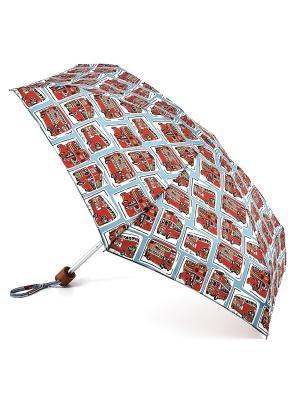 Зонт Механика Fulton. Цвет: красный
