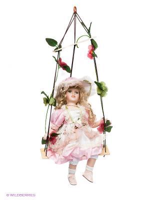 Кукла Злата Lisa Jane. Цвет: бледно-розовый, белый