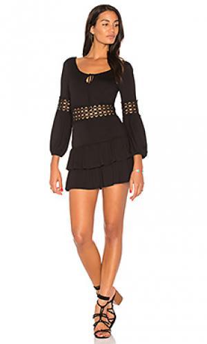 Платье marcela VAVA by Joy Han. Цвет: черный