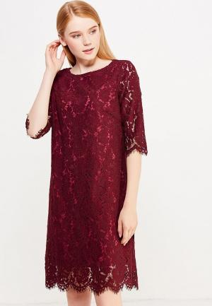 Платье Savage. Цвет: бордовый