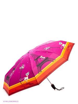 Зонт Zest. Цвет: фуксия, оранжевый