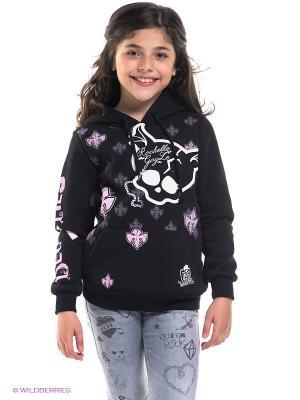 Худи Monster High. Цвет: черный