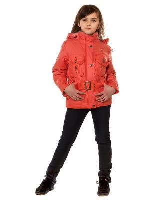 Куртка VELFI. Цвет: коралловый