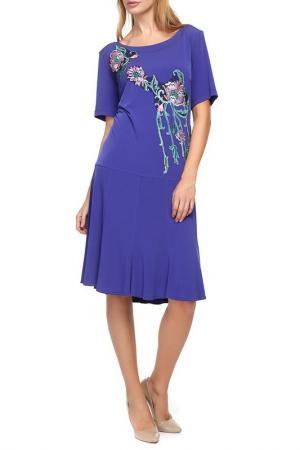 Платье Georgede. Цвет: фиолетовый