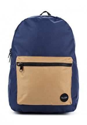 Рюкзак Globe. Цвет: синий