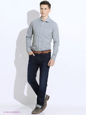 Рубашка Westrenger. Цвет: темно-зеленый