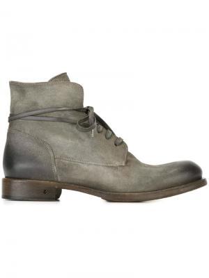 Ботинки по щиколотку John Varvatos. Цвет: серый