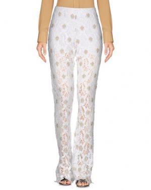 Повседневные брюки VALERIE KHALFON. Цвет: белый