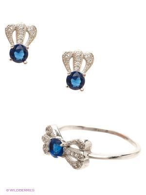 Комплект Royal Diamond. Цвет: синий