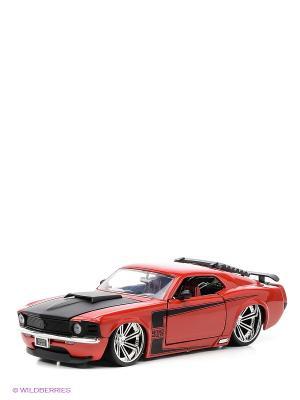 Модель автомобиль Ford Mustang Boss70 1:24 Jada. Цвет: красный