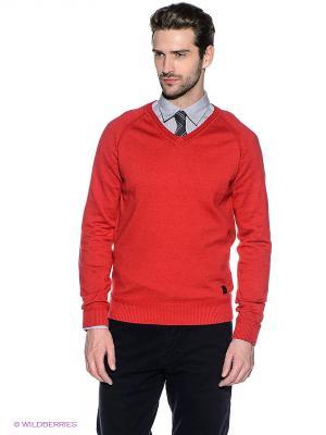 Пуловер S.OLIVER. Цвет: терракотовый