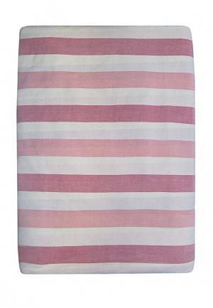 Комплект постельного белья Евро Arloni. Цвет: розовый
