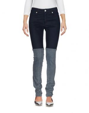 Джинсовые брюки SURFACE TO AIR. Цвет: синий
