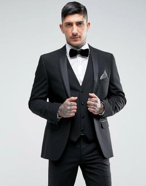 Harry Brown Облегающий пиджак. Цвет: черный