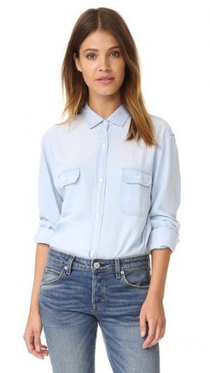 Рубашка с пуговицами Kendall RAILS. Цвет: светлая винтажная расцветка
