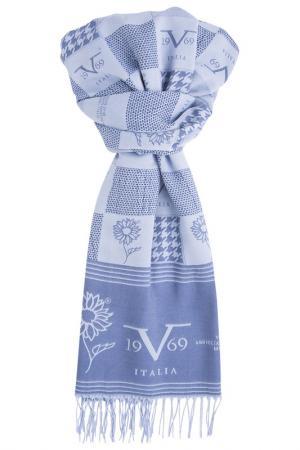 Шарф Versace 19.69. Цвет: голубой