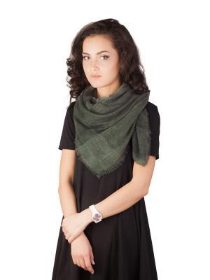 Платок Элеганс (фисташковый) Le Motif Couture. Цвет: серо-зеленый