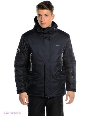 Куртка ADDIC. Цвет: темно-синий, черный