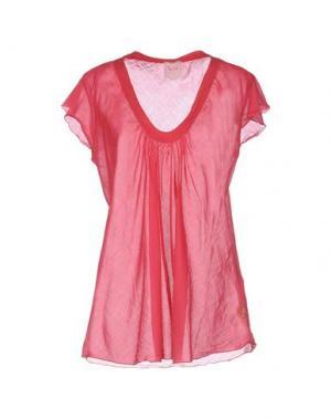 Блузка NOLITA. Цвет: коралловый