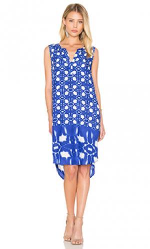 Платье bonita Velvet by Graham & Spencer. Цвет: синий