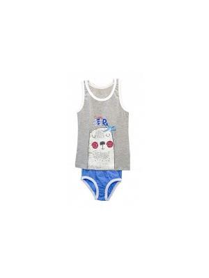 Комплект одежды РОССИЙСКИЙ ТРИКОТАЖ. Цвет: голубой
